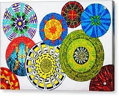 Sentient Mandalas Acrylic Print