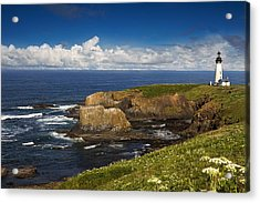 Sentinel On The Pacific Coast Acrylic Print by Andrew Soundarajan