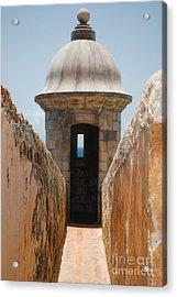 Sentinel Tower Acrylic Print