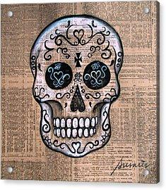 Senyora Calavera Acrylic Print