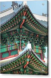 Seoul Palace Acrylic Print by Michael Garyet