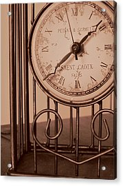 Sepia Time Acrylic Print by Guy Ricketts