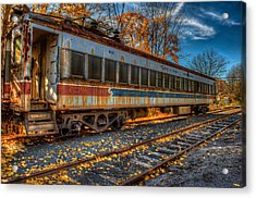 Acrylic Print featuring the photograph Septa 9125 by William Jobes