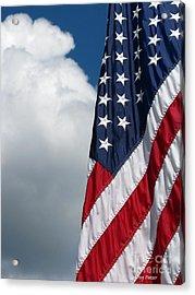 September Flag Acrylic Print