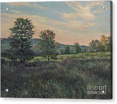 September Meadow Acrylic Print by Gregory Arnett