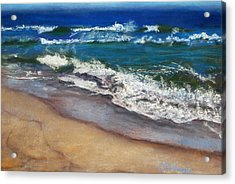 Acrylic Print featuring the painting September On Nantucket by Cindy Plutnicki
