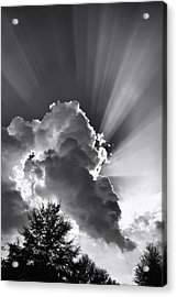 Acrylic Print featuring the photograph September Rays by Ben Shields
