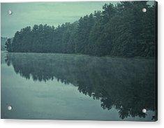 September Reflection Acrylic Print by Karol Livote