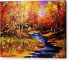 The Brilliance Of Autumn Acrylic Print