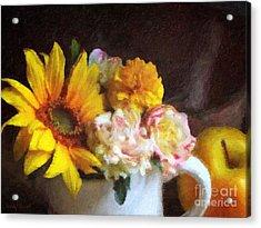 September Still Life Acrylic Print by Lianne Schneider