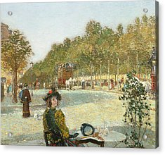 September Sunlight, Paris Acrylic Print