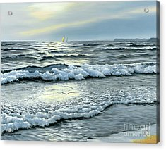 September Winds Acrylic Print by Michael Swanson