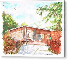 Sequoia National Park - Foothills Visitor Center - Califoernia Acrylic Print by Carlos G Groppa