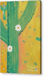 Sequoia Acrylic Print by PainterArtist FINs daughter