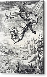 Seraphim, Heavenly Counselors Acrylic Print by Folger Shakespeare Library