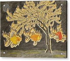 Seraphim Acrylic Print by Sean Mitchell