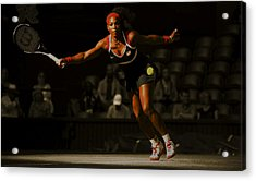 Serena Williams Grace Acrylic Print