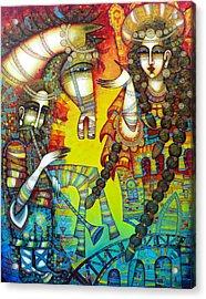 Serenade Acrylic Print by Albena Vatcheva
