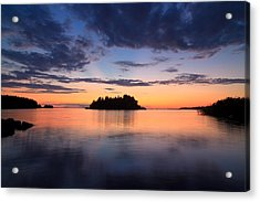 Serenity After The Sunset Acrylic Print