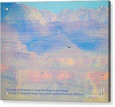Serenity At The South Rim Acrylic Print