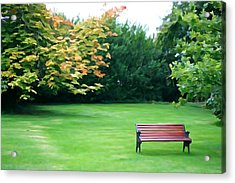 Acrylic Print featuring the photograph Serenity by Charlie and Norma Brock