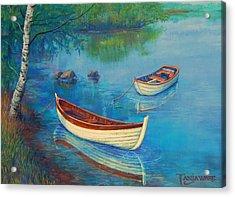 Serenity Cove Acrylic Print