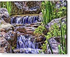 Serenity Falls Acrylic Print