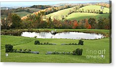 Acrylic Print featuring the photograph Serenity Hill by Carol Lynn Coronios