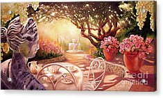 Acrylic Print featuring the painting Serenity by Michael Rock