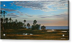 Acrylic Print featuring the painting Serenity by Rick McKinney