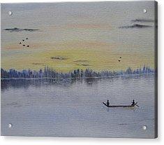 Serenity Acrylic Print by Sayali Mahajan