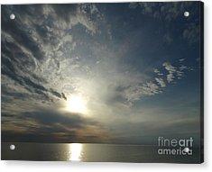 Serenity Sunset Acrylic Print by Joseph Baril