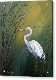 Acrylic Print featuring the painting Serenity by Suzanne Theis