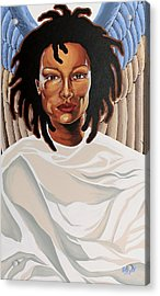 Serenity Acrylic Print by William Roby
