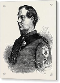 Sergeant Lane 1st Gloucester Rifle Volunteers Winner Acrylic Print