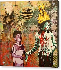 Serial Thriller Acrylic Print by Bobby Zeik