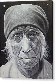 Serrano Woman Acrylic Print by Stu Braks