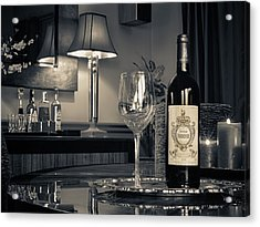 Service For One Acrylic Print by Dennis James