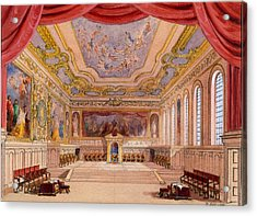 Set Design For The Merchant Of Venice Acrylic Print by English School