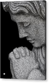 Set In Stone Acrylic Print by Mary Burr