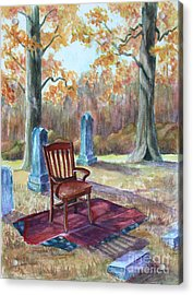 Settling Place Acrylic Print by Janet Felts