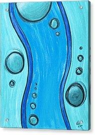 Seuss Blue Acrylic Print