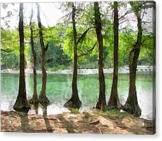 Seven Sisters Acrylic Print by Wendy J St Christopher