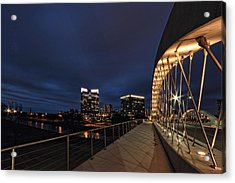 Seventh Avenue Bridge Fort Worth Acrylic Print
