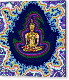 Seventh Heaven Buddha Acrylic Print