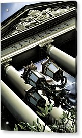Severance Hall - Home Of The Cleveland Orchestra Acrylic Print