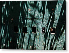 Sun-shaded Walls Acrylic Print