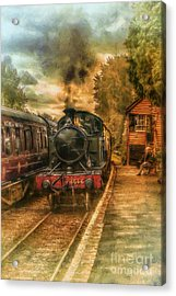 Severn Valley Railway Acrylic Print by J A Evans