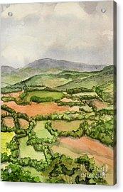 Sewanee Overlook Acrylic Print by Janet Felts