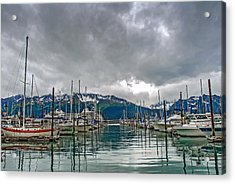 Seward Harbour Alaska Acrylic Print